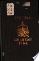 Directory  Rules  Constitutions and Manual of Parliamentary Practice
