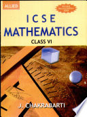 Icse Mathematics For Class Vi