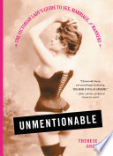Unmentionable by Therese Oneill