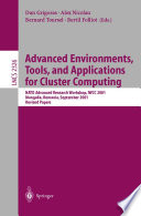 Advanced Environments  Tools  and Applications for Cluster Computing