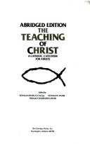The Teaching of Christ
