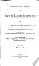 Annual Report Of The Board Of Railroad Commissioners Of The State Of New York