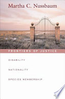 Frontiers of Justice