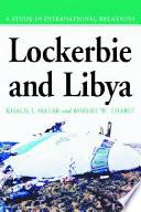 Lockerbie and Libya