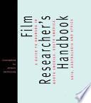 The Film Researcher s Handbook