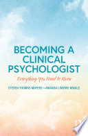 Becoming a Clinical Psychologist
