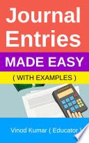 Journal Entries eBook