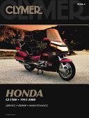 Honda GL1500 1993 2000