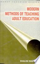 Modern Methods Of Teaching Adult Education
