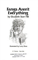 Fangs Aren t Everything Book PDF