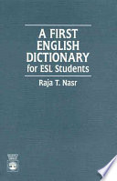 A First English Dictionary
