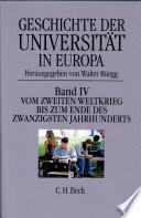 Geschichte der Universit  t in Europa
