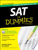 SAT For Dummies  with Online Practice
