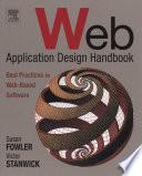 Web Application Design Handbook