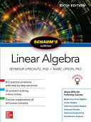 Schaum s Outline of Linear Algebra  Sixth Edition