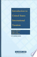 Introduction to United States International Taxation