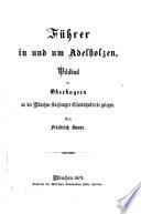 Führer in und um Adelholzen : Wildbad in Oberbayern ; an der München-Salzburger Eisenbahnstrecke gelegen