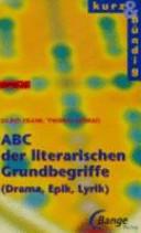 ABC der literarischen Grundbegriffe