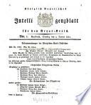 Königlich Bayerisches Intelligenzblatt für den Rezat-Kreis