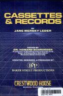 Cassettes   records