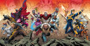 X-Men : on three diff erent fronts: the past, present...
