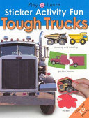 Sticker Activity Fun   Tough Trucks