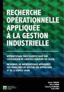 Recherche Op  rationnelle Appliqu  e    la Gestion Industrielle
