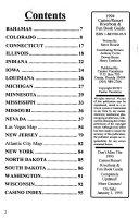 Casino - Resort, Riverboat and Fun Book Guide, 1994