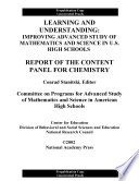 Learning and Understanding  Improving Advanced Study of Mathematics and Science in U S  High Schools