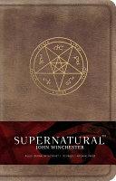 Supernatural John Winchester Hardcover Ruled Journal