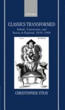 Classics Transformed book
