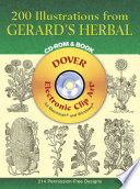 200 Illustrations From Gerard S Herbal