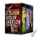 J T  Ellison Taylor Jackson Series Books 5 7