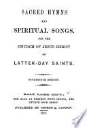 Sacred Hymns And Spiritual Songs book