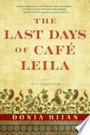 Ebook The Last Days of Café Leila Epub Donia Bijan Apps Read Mobile