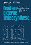 Fixateur-externe-Osteosynthese