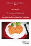 Die österreichische Küchensprache