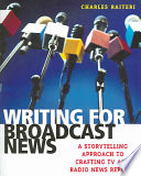 Writing for Broadcast News