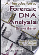 An Introduction to Forensic DNA Analysis  Second Edition