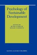 Psychology of Sustainable Development