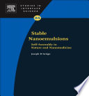 Stable Nanoemulsions book