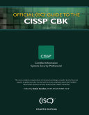 Official (ISC)2 Guide to the CISSP CBK - Fourth Edition
