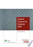 Gesti  n Fiscal en la Empresa  Sumplemento Novedades 2008