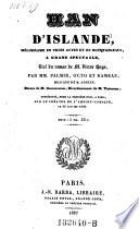 Han d'Islande, melodrame en 3 actes, tire du roman de Victor Hugo
