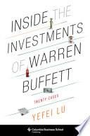 Inside The Investments Of Warren Buffett book