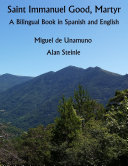 Saint Immanuel Good  Martyr  A Bilingual Book In Spanish and English