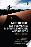 Nutritional Supplements in Sport  Exercise and Health