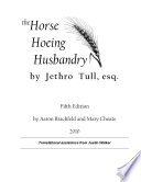 Horse Hoeing Husbandry Fifth Edition