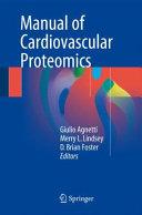 Manual of Cardiovascular Proteomics