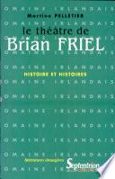 Le théâtre de Brian Friel